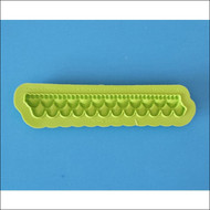 Ruffle Border--Marvelous Molds Silicone Mold