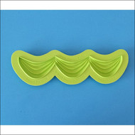 Triple Classic Swag--Marvelous Molds Silicone Mold