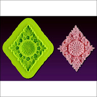 Large Quadrille--Marvelous Molds Silicone Mold