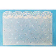 SUGARVEIL FLOWER LACE MAT