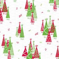 "CELLO BAG 4 X 2.75 X 9.5"" CHRISTMAS TREE--PKG/100"