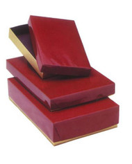 MAROON BOX--VARIETY OF SIZES