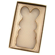 "4-3/8"" X 7"" BOX W/GOLD RABBIT INSERT"
