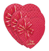 1# HEART BOX FOIL/RIBBON HAPPY VALENTINES DAY