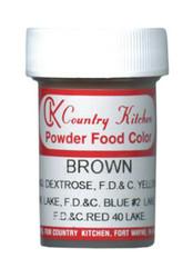 CK POWDERED COLOR-BROWN-9 grams