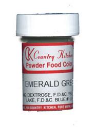 CK POWDERED COLOR-EMERALD GREEN-9 grams