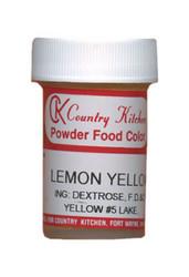 CK POWDERED COLOR-LEMON YELLOW-9 grams
