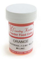 CK POWdERD COLOR-ORANGE-9 grams