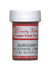CK POWDERED COLOR-BURGUNDY-9 grams