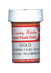 CK POWDERED COLOR-GOLD-9 grams
