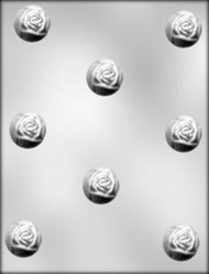 "1-3/8"" ROSEBUD BONBON CHOCOLATE CANDY MOLD"