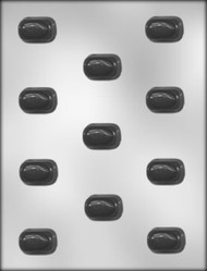 1-3/8 ALMOND BONBON CHOCOLATE CANDY MOLD