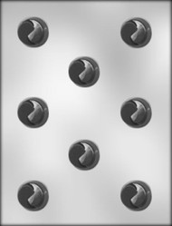 "1-1/4"" DOUBLE TWIST CHOCOLATE CANDY MOLD"