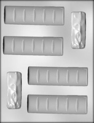 "3-3/4"" & 4-1/4"" ASST CANDY BAR CHOCOLATE CANDY MOLD"