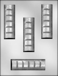 "4-1/2"" CANDY BAR CHOCOLATE CANDY MOLD"