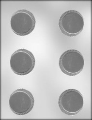 "2-1/8"" CANDY CUP CHOCOLATE CANDY MOLD"