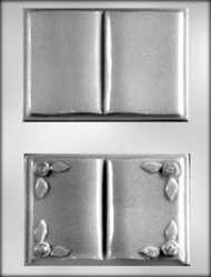 "5"" OPEN BOOK CHOCOLATE CANDY MOLD"