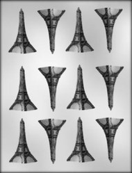 "2"" EIFFEL TOWER CHOCOLATE CANDY MOLD"