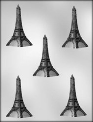 "3"" EIFFEL TOWER CHOCOLATE CANDY MOLD"
