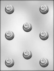 "1-1/4"" CHERRY FLIP CHOCOLATE CANDY MOLD."