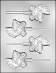 "2-3/4""BUGGY SUCKER CHOCOLATE CANDY MOLD"