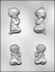 "2-7/8"" - 3-1/2"" CHILDREN ASST CHOCOLATE CANDY MOLD"
