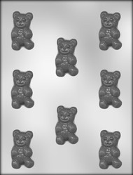 "2"" BEAR CHOCOLATE CANDY MOLD"