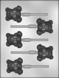 "2"" BEAR SUCKER CHOCOLATE CANDY MOLD"