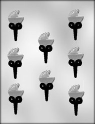 CHOCOPICK-BABY BUGGY CHOCOLATE CANDY MOLD
