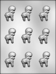"2"" LAMB CHOCOLATE CANDY MOLD"