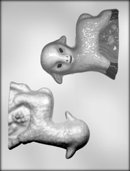 "4-1/2"" LAMB -3D CHOCOLATE CANDY MOLD"