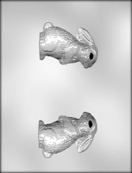 3-3/8 BUNNY 3-D CHOCOLATE CANDY MOLD