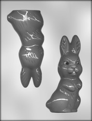 "6"" 3-D RABBIT CHOCOLATE CANDY MOLD"