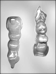 "7"" BUNNY -3D CHOCOLATE CANDY MOLD"