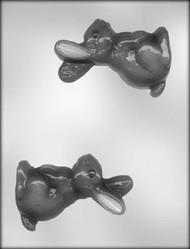 "4-1/2"" 3D RABBIT CHOCOLATE CANDY MOLD"