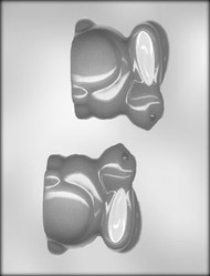 "3-1/2"" 3D BUNNY CHOCOLATE CANDY MOLD"