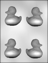 "2-3/4"" 3D DUCK CHOCOLATE CANDY MOLD"