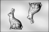 "8"" 3D BUNNY CHOCOLATE CANDY MOLD"
