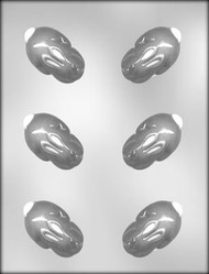 "2-5/8"" 3D BUNNY CHOCOLATE CANDY MOLD"