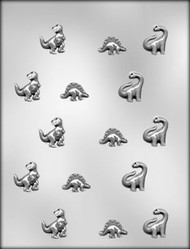 "1"" DINOSAUR CHOCOLATE CANDY MOLD"