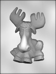 "7"" MOOSE CHOCOLATE CANDY MOLD"