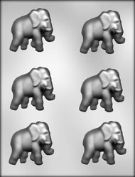 "2-1/4"" ELEPHANT CHOCOLATE CANDY MOLD"