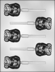 "2"" CHIMP SUCKER CHOCOLATE CANDY MOLD"