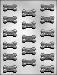 "1-3/4"" DOGGIE TREAT CHOCOLATE CANDY MOLD"