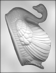 "8-1/2"" SWAN (LEFT) CHOCOLATE CANDY MOLD"