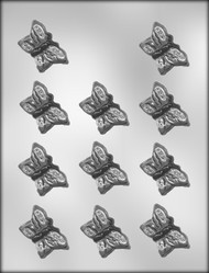 "1-3/4"" BUTTERFLY CHOCOLATE CANDY MOLD."