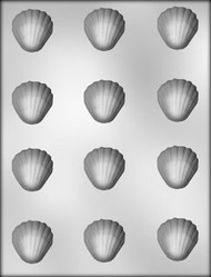 "1-1/2"" SHELL CHOCOLATE CANDY MOLD"