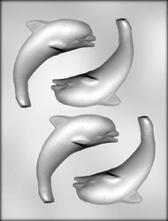 "4-5/8"" DOLPHIN CHOCOLATE CANDY MOLD"