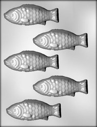 "4"" FISH CHOCOLATE CANDY MOLD"