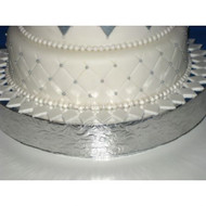 """Floral Leaf"" Cake Stand/Display Base--Choose From 14"", 16"", 18"", 20"" or 22"""